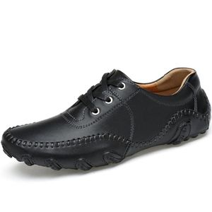 MOCASSIN Mens Lace Up Octopus Driving Chaussures Mocassins