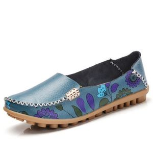 BASKET Loafer Femme plates Confortable Respirant Loafers