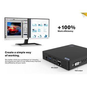 UNITÉ CENTRALE  Mini PC-Windows 10-Z83 - V-Unité Central 4 Go RAM