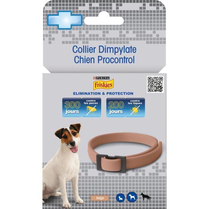 FRISKIES Collier anti-parasitaires Dympilate - pour chien - 31g