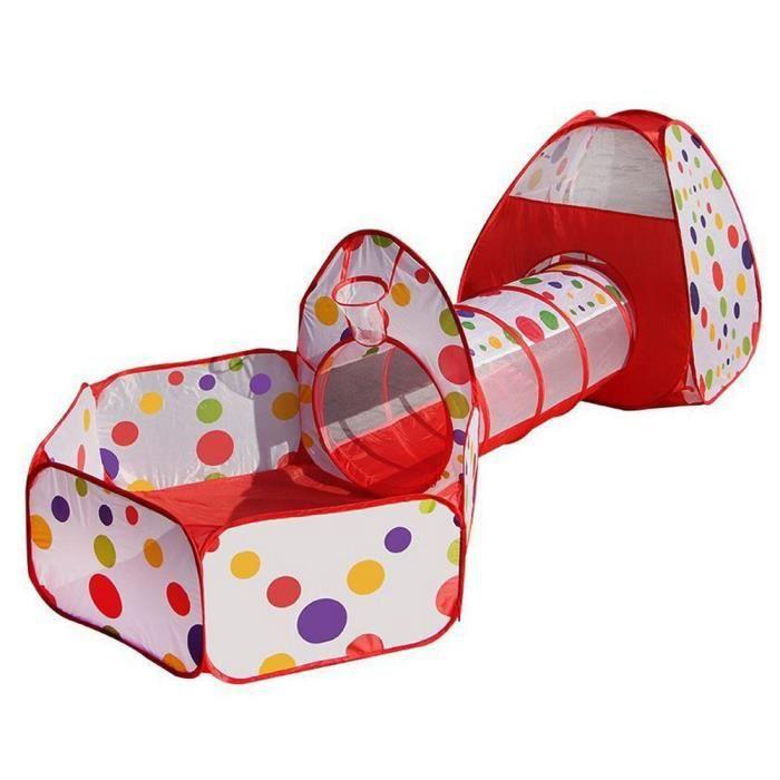 tente a balles avec tunnel achat vente jeux et jouets pas chers. Black Bedroom Furniture Sets. Home Design Ideas