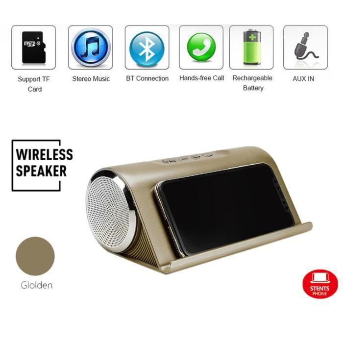 Basse Super Portable Sans Fil Bluetooth Haut-kclleur Avec Un Téléphone Mobile Support À Kcl130
