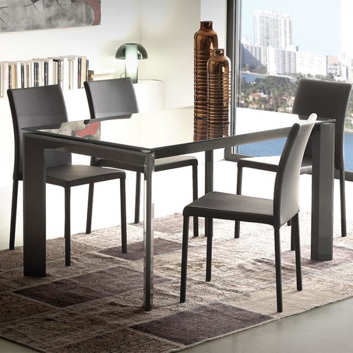 Table a manger verre extensible - Achat   Vente pas cher 07bdebf76f7f
