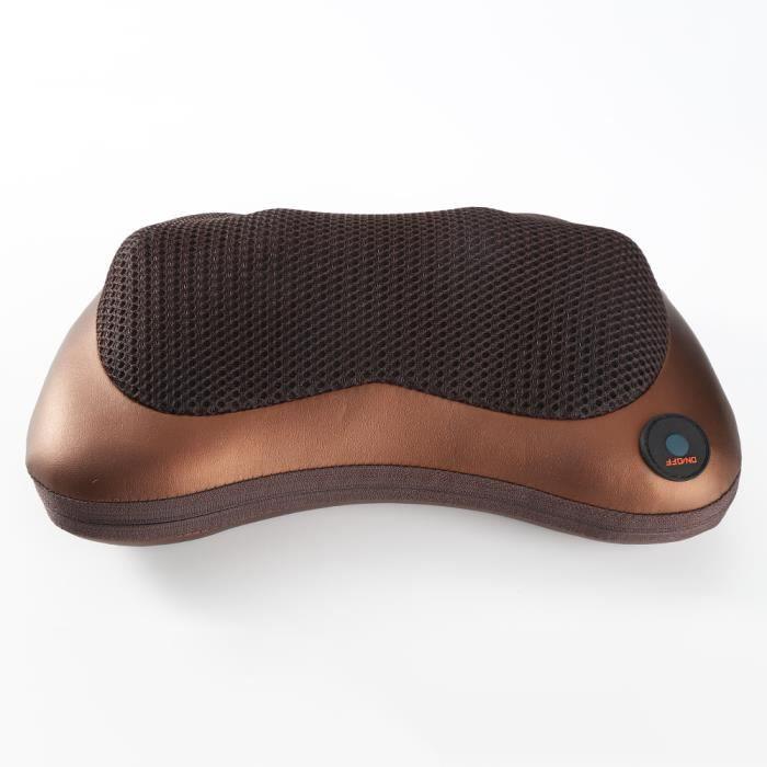 Coussin massage chauffant de cou @ BonAchat