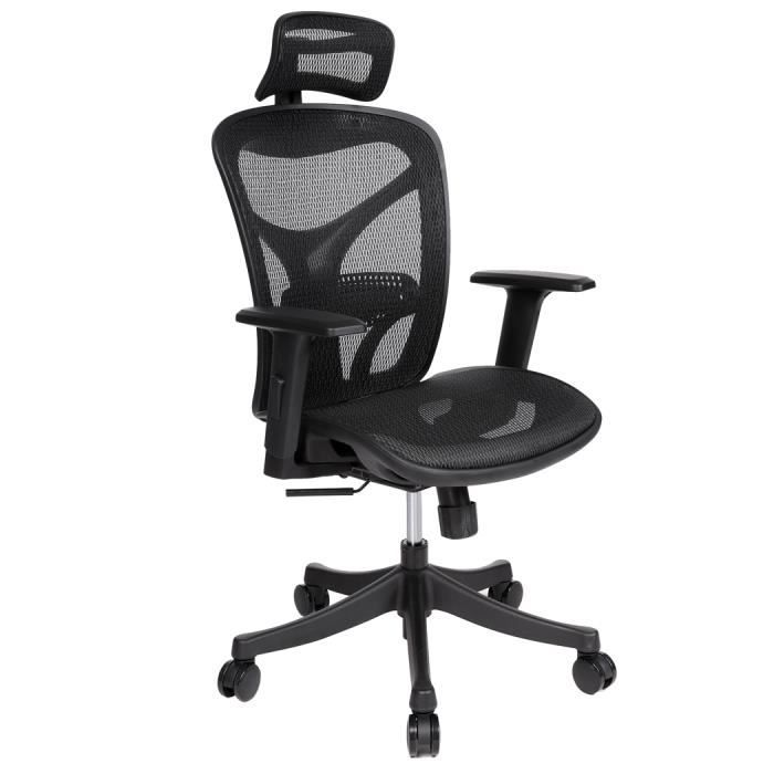 Ascenseur Ergonomique Bureau Maille Réglable De Chaise gm6vYIfyb7
