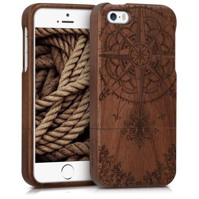 coque iphone 8 bois veritable