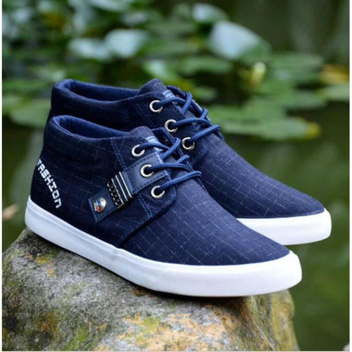 chaussures montantes Mode Chaussure Homme Basket Homme Skate Shoes zs1FXUSAA