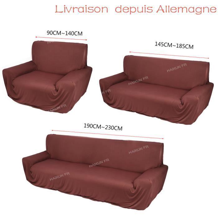 Housse de fauteuil et canape achat vente housse de fauteuil et canape pas cher cdiscount for Housse de sofa