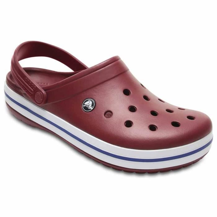 5862e5eaa9a Chaussures homme Sandales Crocs Crocband Rouge Rouge - Achat   Vente ...