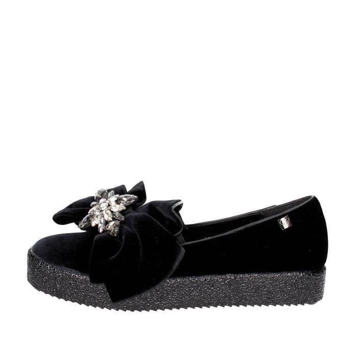 Braccialini Slip-on Chaussures Femme Noir, 37