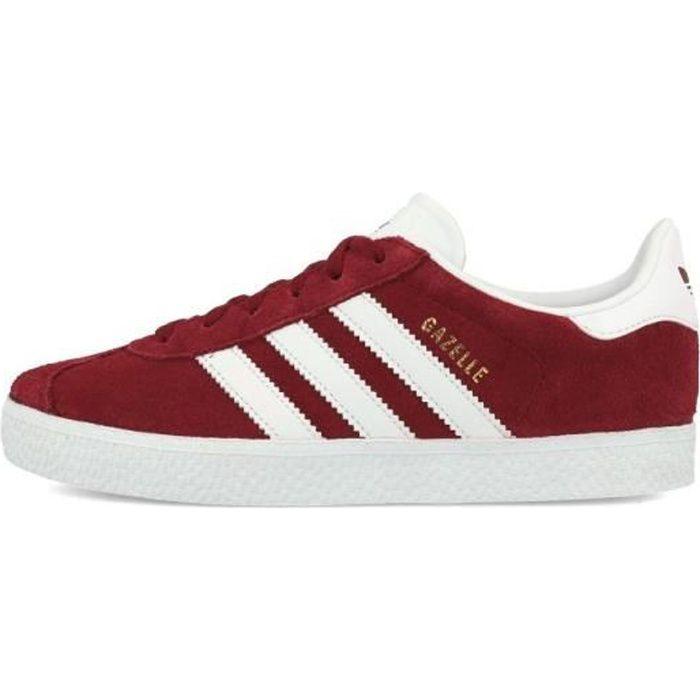 baskets mode adidas originals cq2914 gazelle c rouge