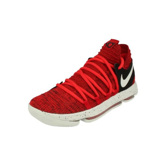 new arrivals 7ea64 ad7ad BASKET Nike Zoom Kd10 Hommes Basketball Trainers 897815 S