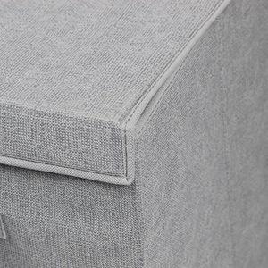 panier a linge avec couvercle achat vente panier a linge avec couvercle pas cher soldes. Black Bedroom Furniture Sets. Home Design Ideas
