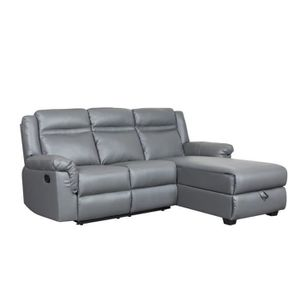 Canape d angle relax achat vente canape d angle relax for Divan avec meridienne