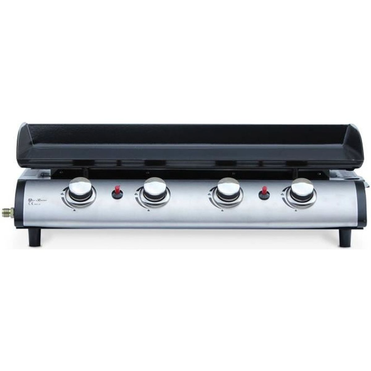 ... 10 kW barbecue cuisine extérieure grande plaque émaillée inox. BARBECUE  Plancha au gaz 4 feux, Porthos 4 brûleurs, ... 081ec93ce21c