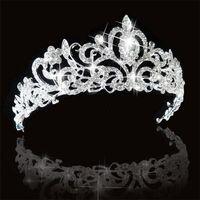 DIADÈME Diadème Bijoux Mariage Couronne de strass cristal