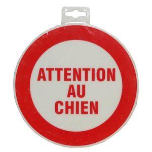 Panneau Attention Au Chien