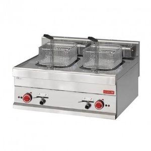 FRITEUSE ELECTRIQUE Friteuse électrique - 2 x 10 Litres - Gastro M