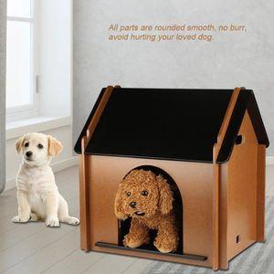 NICHOIR - NID Maison Nid Abri en bois pour animaux chien chat