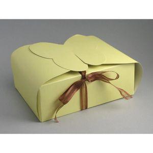 BOÎTE À DRAGÉES 25 boîtes à gâteaux papillon métallisé mariage (iv