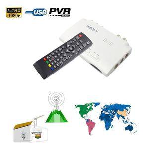 BOX MULTIMEDIA 1080P ISDB-T numérique terrestre TV BOX Récepteur