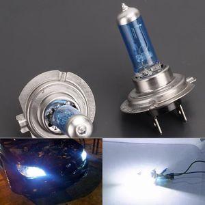 PHARES - OPTIQUES 2x Halogène Ampoule Lumière Blanc Froid H7 6000K 1