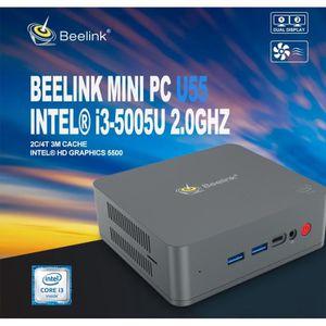 UNITÉ CENTRALE  Mini PC - Windows 10-Beelink U55 Unité Centrale -
