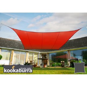 Voile ombrage rouge - Achat / Vente pas cher