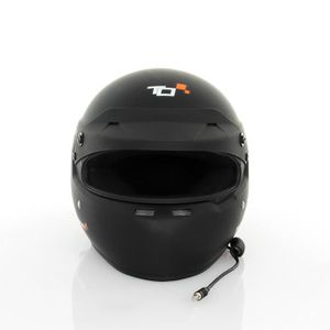 CASQUE MOTO SCOOTER Casque FIA intégral TURN ONE Full-RS noir mat Inte