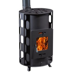 Invicta Remilly 7 Kw Poele A Bois A Bois Flamme Verte 7 Buches 34