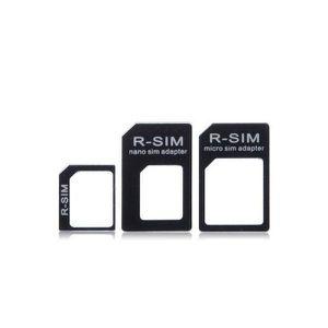 ADAPTATEUR CARTE SIM Lot adaptateurs nano SIM ou micro SIM en SIM ou mi