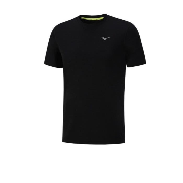 MIZUNO T-Shirt Impulse Core Homme Noir
