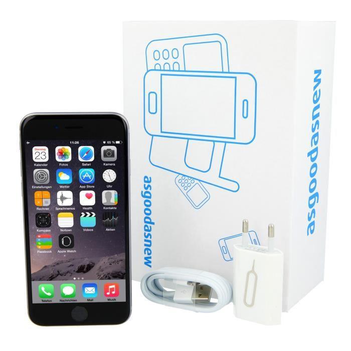 APPLE iPhone 6s Plus 16 Go gris sidéral reconditionné à neuf (30 mois de  garantie incl.) ec10fe3419da