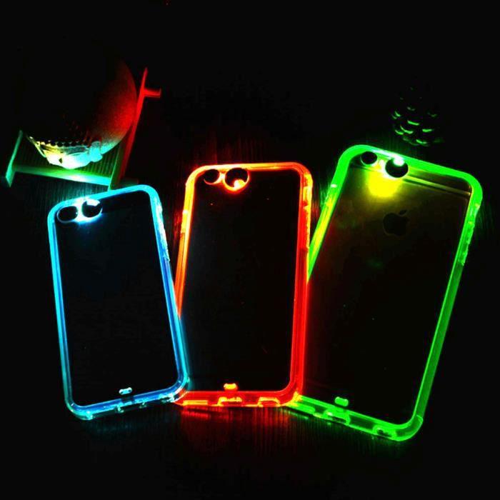 iphone 6 coque led