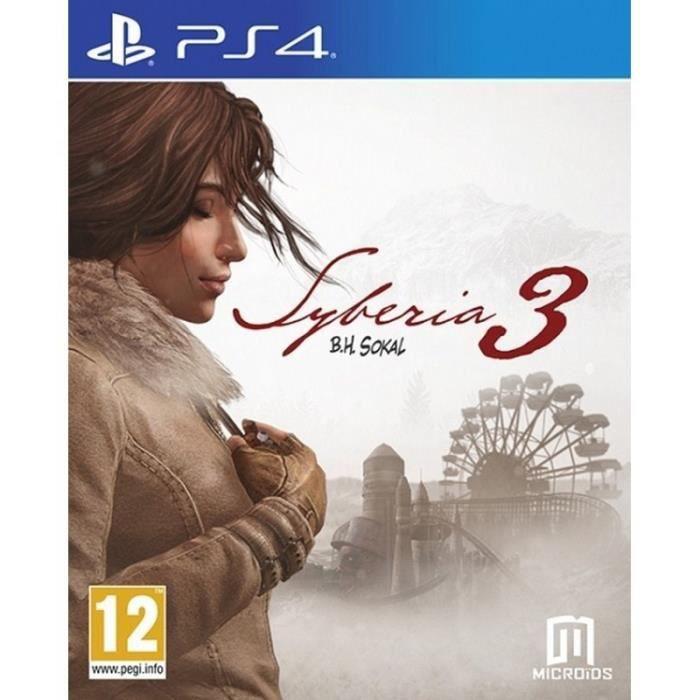 3 PS4 syberia - 114707