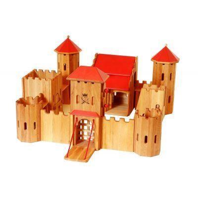 Jouet en bois forteresse chateau fort - Chateau fort playmobil pas cher ...