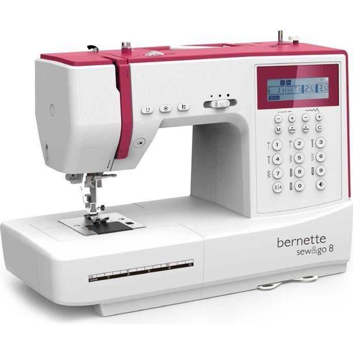 MACHINE À COUDRE BERNINA Machine à coudre Sew&Go 8 - Quilt & Patchw