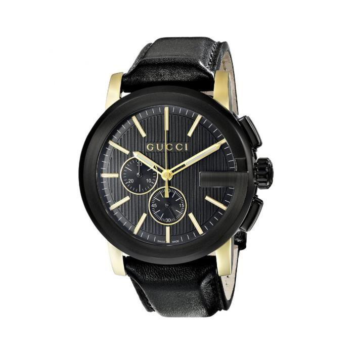 f1ea6643e44bd5 Montre Gucci Homme G-Chrono YA101203   Noir - Achat   Vente montre ...