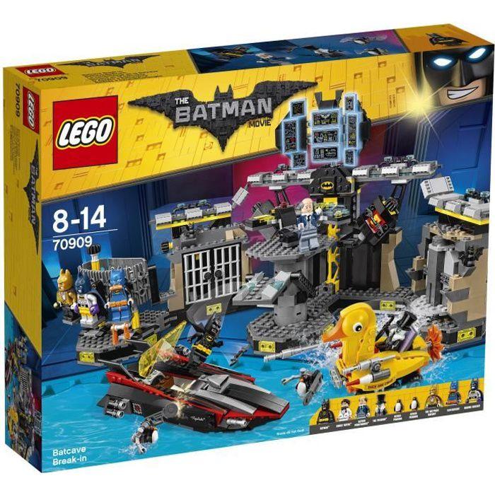 Lego batman movie 70909 le cambriolage de la batcave - Batman playmobil ...