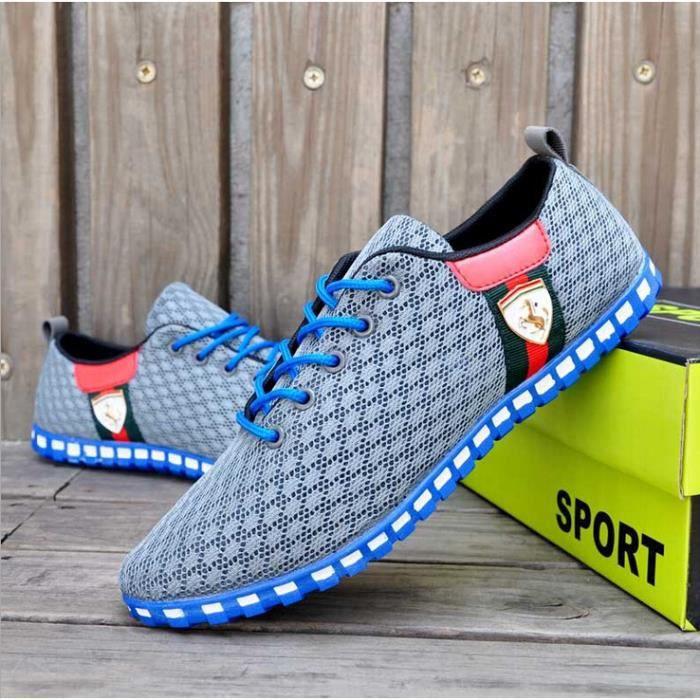 Hommes été mesh respirant chaussures de sport o... SAAUnamL7f
