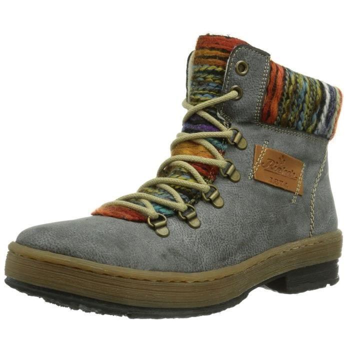 bottines / low boots z6743-45 femme rieker z6743