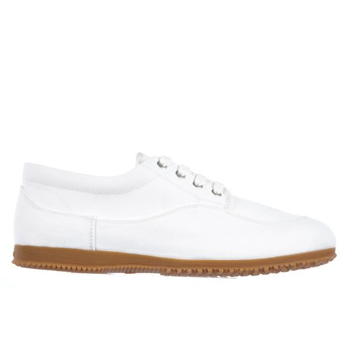Chaussures baskets sneakers homme en coton traditional top Hogan Zf5Aad