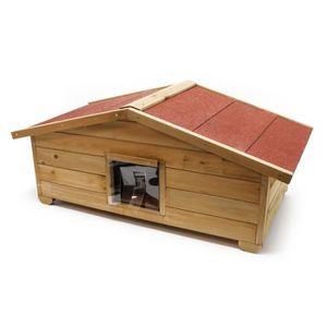 maisonnette pour chat achat vente maisonnette pour chat pas cher soldes d s le 10 janvier. Black Bedroom Furniture Sets. Home Design Ideas