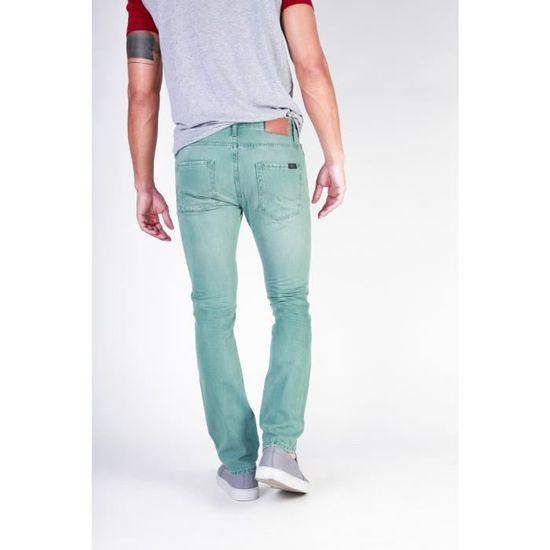 f8f6c03b16647 Jean original homme vert d eau Jack Jones - 28 - Vert - Achat   Vente jeans  3556472149909 - Soldes  dès le 9 janvier ! Cdiscount