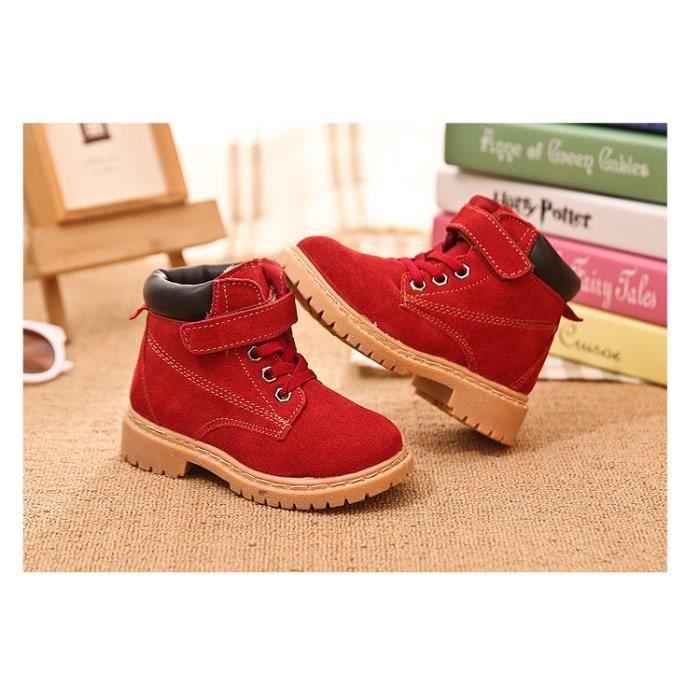 de chaussures de Enfant neige Bottes chaussures chaud bottes neige plus de coton YTFWn8z