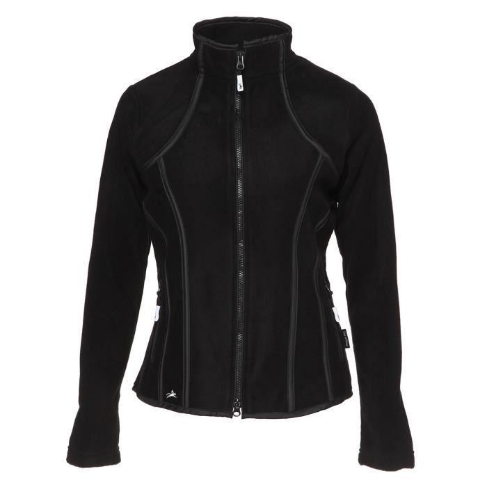 EQUI-THEME Veste cintrée d'équitation - Femme - Noir