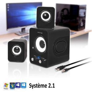 ENCEINTES ORDINATEUR Pack d'enceintes PC Advance Soundphonic 2.1 - 6W R