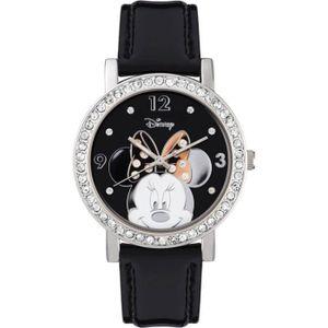 MONTRE Montre officielle à effet diamant Minnie Mouse