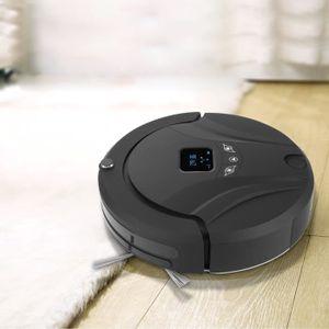 ASPIRATEUR ROBOT LUXS Robot Aspirateur Intelligent avec Télécommand