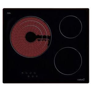 PLAQUE VITROCÉRAMIQUE  CATA Table de cuisson vitrocéramique TT 603 60cm n